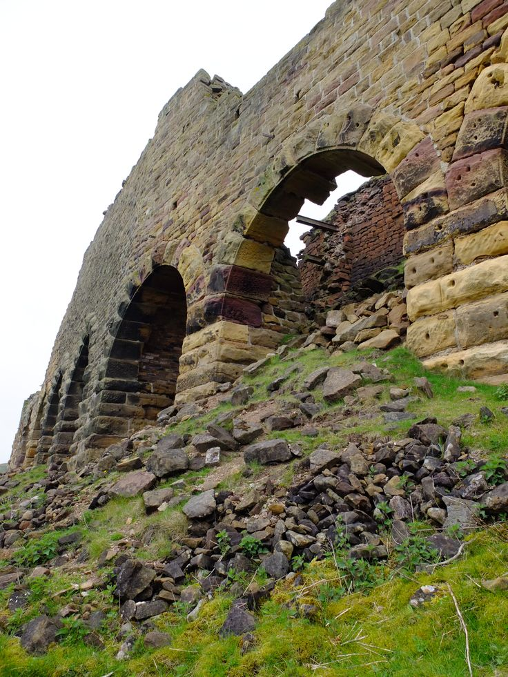 Rosedale kilns from below