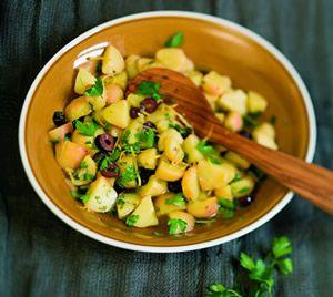 Kartoffelsalat mit Orangenvinaigrette
