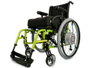 Quickie XTender Power Assist - Electric Wheelchair