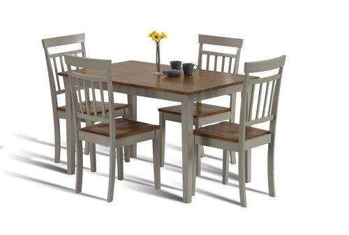 Hudson, oak dining set, dining set, oak dining table, compact dining set, compact dining table, oak dining table,painted diniing set