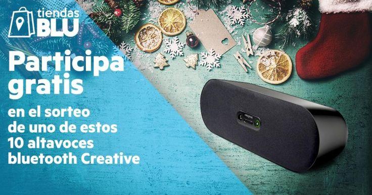Sorteo de 10 Altavoces Bluetooth Creative