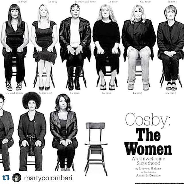 #CostantinoVitagliano Costantino Vitagliano: #Repost @martycolombari LA SEDIA VUOTA della copertina del New York magazine con le 35 donne che hanno accusato Bill Cosby di violenza rimanda alle altre 11 che non sono uscite allo scoperto. E fa pensare a tutte le donne che non denunciano per paura della vergogna, della derisione, di non essere credute. Non sentitevi più sole. #TheEmptyChair @grazia_it