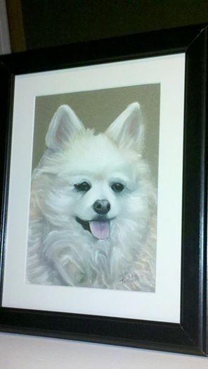 Pastel Pet Portrait for one of my clients