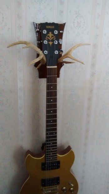 handmade guitar hanger for most guitars except fender on guitar wall hangers id=98427