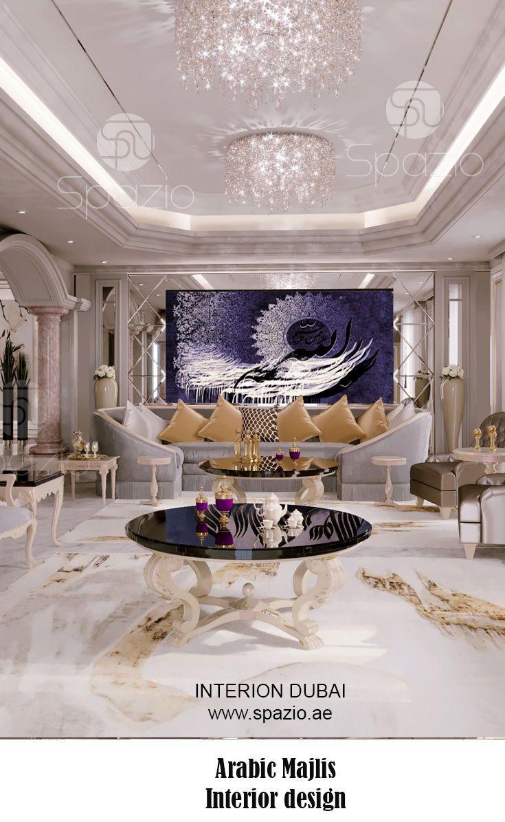 Arabic Majlis Interior Design In Dubai Uae 2020 Luxury House Interior Design Interior Design Dubai Interior Design