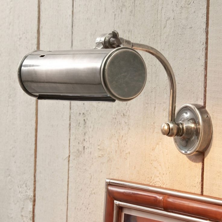 Wandlampe Tomino - Messing antiksilber