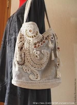 Summer Boho style bag. Discussion on LiveInternet - Russian Service Online…