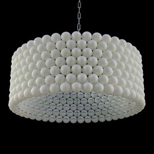 Ping Pong Lighting - DIY Budget Home Decor (GALLERY)