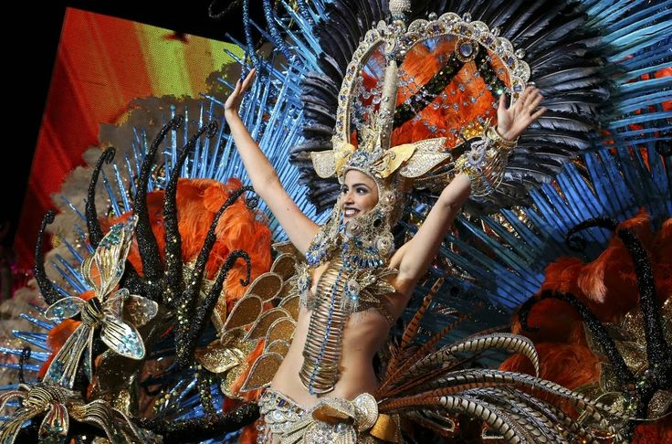 #CanaryIslands is celebrating today one of the most wonderful #Carnival worldwide. #Spain http://bit.ly/1ktfDbQ