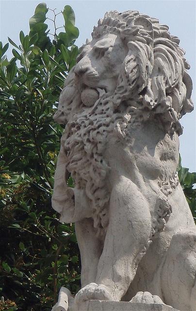 leone di pietra al giardino, Venezia