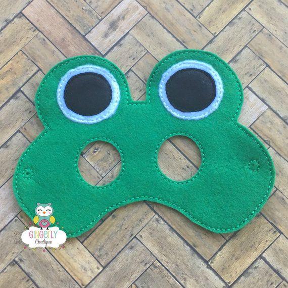 Máscara de rana niños vestido de máscara máscara de disfraz
