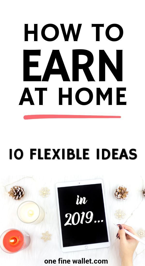 17+ Extraordinary Work From Home And Get Paid Ideas