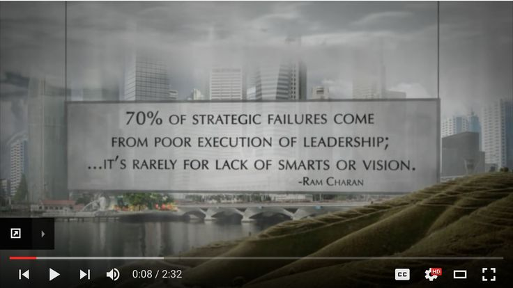 VIDEOS: 4 Disciplines of Execution by FranklinCovey  How to operate despite distraction
