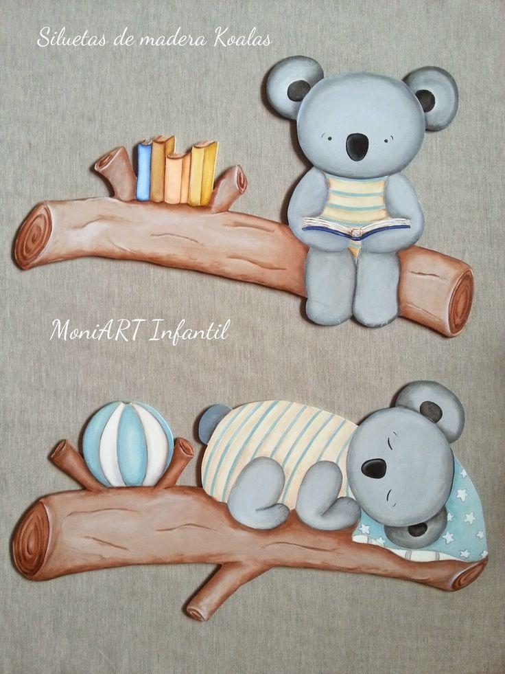 Decoraci n infantil siluetas de madera cuadros y murales - Siluetas madera infantiles ...
