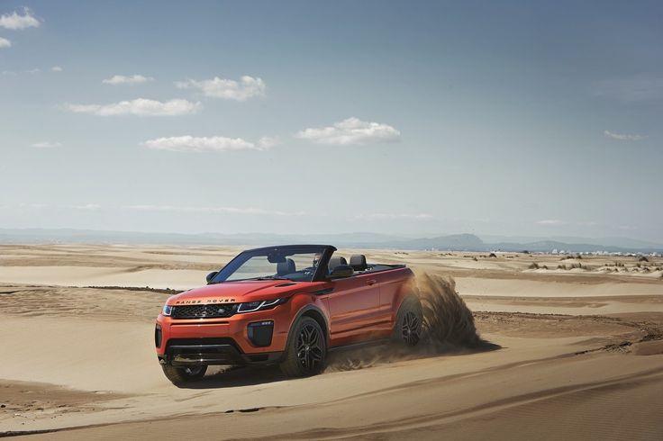 Toda la información del nuevo Range Rover Evoque Convertible: Fotos, precios...