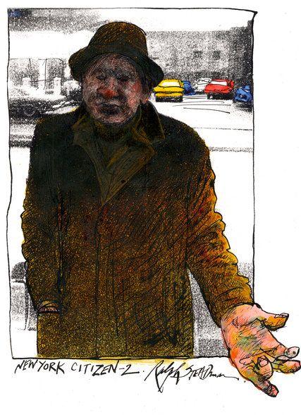 Ralph Steadman Nueva York