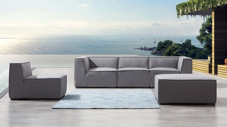 Toft Five Ways Outdoor Lounge System | Lavita Furniture