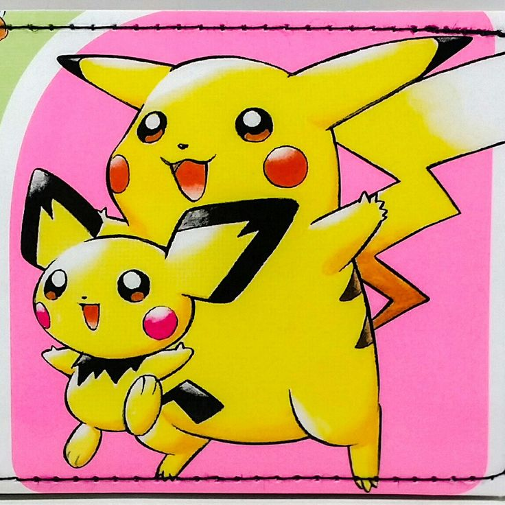 Pokemon wallets at DuctTuff.com  #ComicBookWallets  #Pokemon #Pikachu