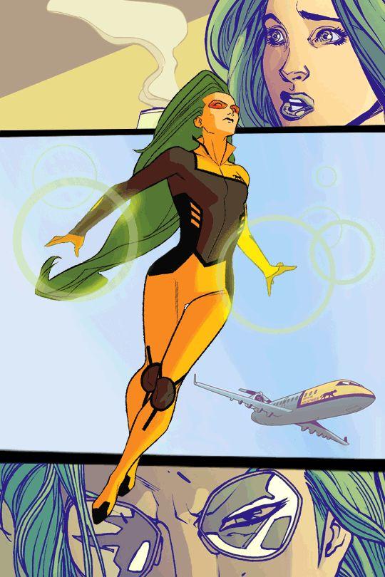 Polaris Marvel Books Spider-man assist