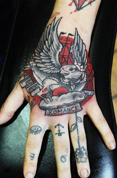 76 best images about hand tattoos on pinterest realism for Animal hand tattoos
