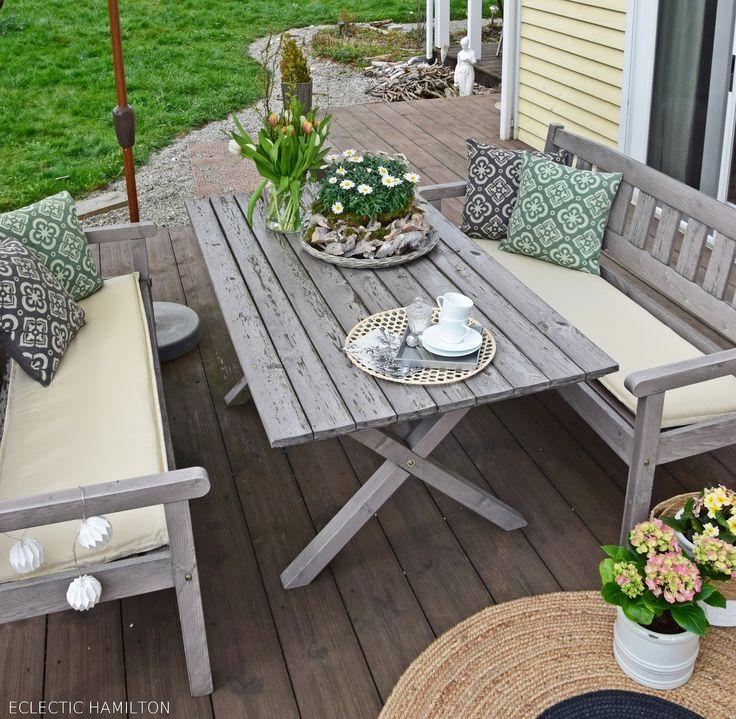 82 besten terrasse ideen deko gestaltung bilder auf pinterest balkon garten terrasse und. Black Bedroom Furniture Sets. Home Design Ideas