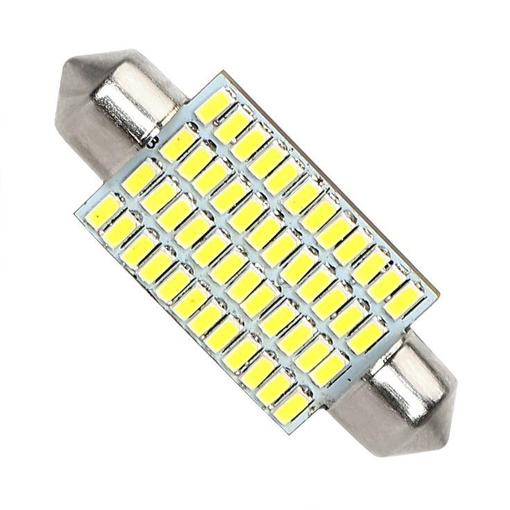 $1.49 (Buy here: https://alitems.com/g/1e8d114494ebda23ff8b16525dc3e8/?i=5&ulp=https%3A%2F%2Fwww.aliexpress.com%2Fitem%2FLight-Source-Car-styling-Pure-White-Car-Dome-Lamp-48-SMD-41mm-LED-Registration-Number-Light%2F32798257367.html ) Light Source Car-styling Pure White Car Dome Lamp 48 SMD 41mm LED Registration Number Light 3014 Universal DC 12V for just $1.49