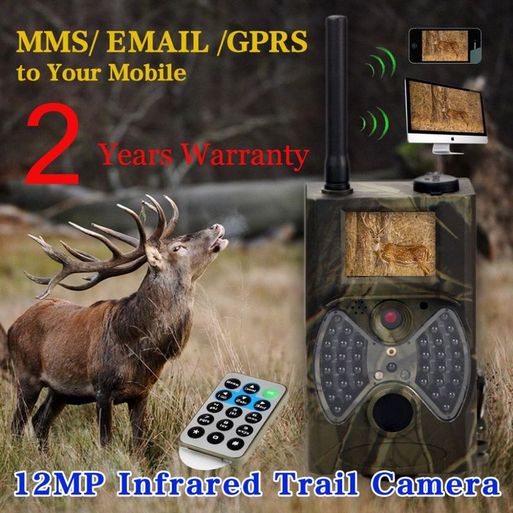 12MP 940nm NO glow Trail Cameras MMS Hunting Cameras Trap Game Cameras Black IR Wildlife Cameras outdoors