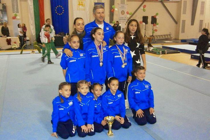 Με μετάλλια επέστρεψαν από την Βουλγαρία τα παιδιά του Ομίλου Ενόργανης Γυμναστικής Αλεξανδρούπολης