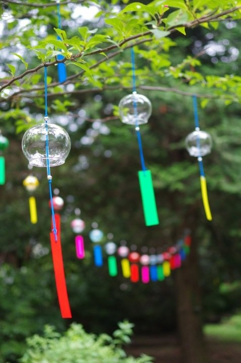 Japanese wind chimes other cool things pinterest for Koi fish wind chime