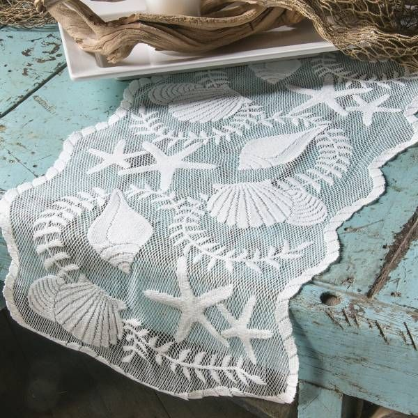Product Image for Heritage Lace® Tidepool 40-Inch Table Runner in White 2 out of 2