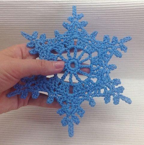 Karácsonyi hópehely, Karácsonyi, adventi apróságok, Dekoráció, Karácsonyi dekoráció, Ünnepi dekoráció, Meska