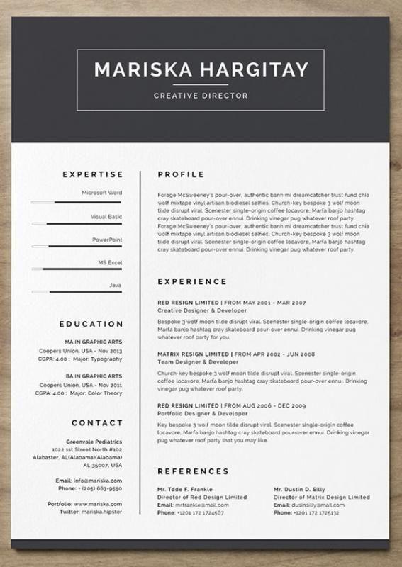 Hybrid Resume Template Free Resume Template Word Resume Template Word Unique Resume Template