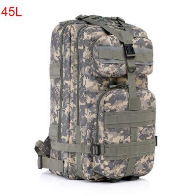 Сумки, рюкзаки, портфели, кошельки, клатчи, бумажники, ремни.: Китайский посылторг: Luxy moon 32-2. Большой высококачественный, водонепроницаемый, 3 P военный тактический рюкзак. Материал - 600D.