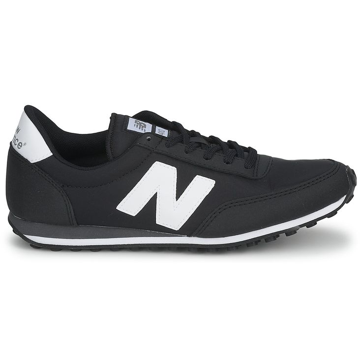 Newest New Balance U410 W Black Womens Trainers Outlet UK1336