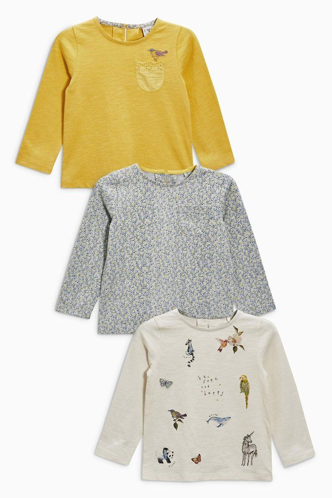Buttercup_ Camisetas Caracteres - Kit com 3 – Anne Claire Baby Store