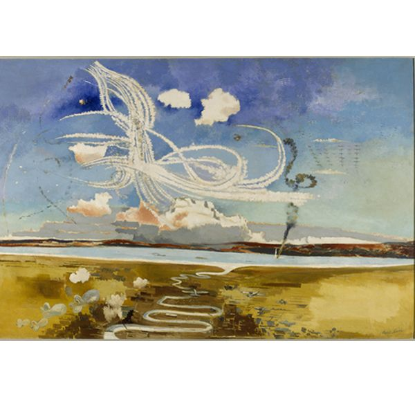 an analysis the painting of the battle of britain by paul nash Read an analysis of the painting here during the battle of cambrai in late 1917 nash john joined paul in his studio.