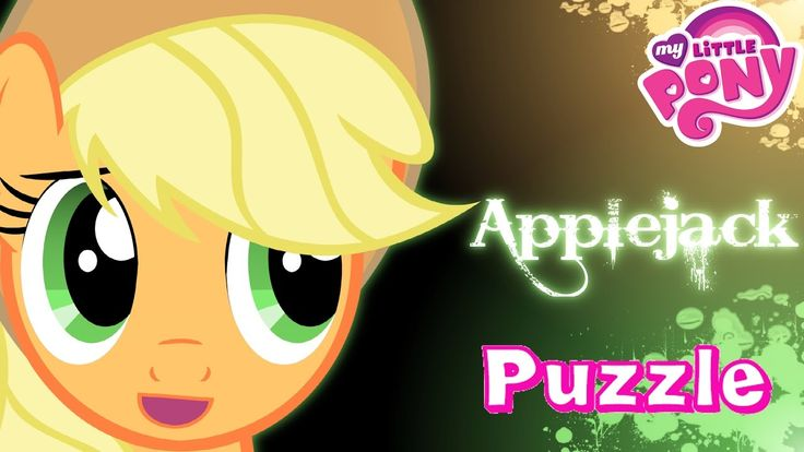 My Little Pony Applejack - Puzzle Game for Kids