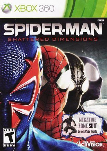 Spider-Man: Shattered Dimensions (Limited Edition with Negative Zone Suit) @ niftywarehouse.com #NiftyWarehouse #Spiderman #Marvel #ComicBooks #TheAvengers #Avengers #Comics