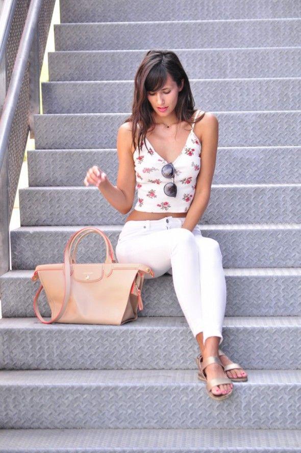 Ana Albadalejo Blog » WHITE JEANS Pantalones blancos