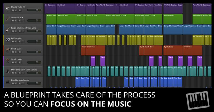 This arranging and editing blueprint lets you focus on the music so you sound better and complete more projects. Logic Pro X project template included.