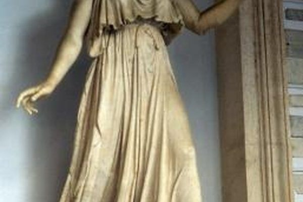 Create a peplos as the base of your Persephone costume.