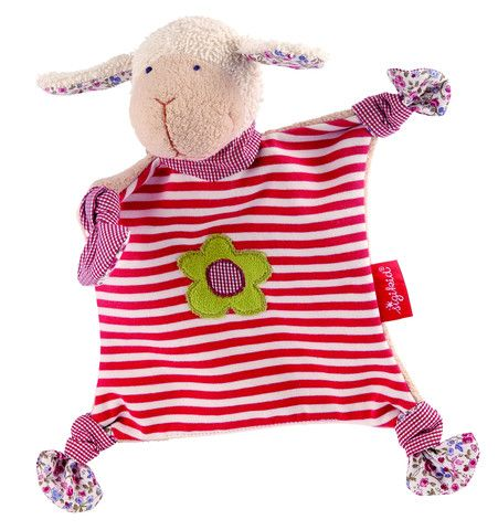 Sigikid Comforter Organic Collection Sheep Snuggly £21.70  Babies will instantly fall in love with this super soft sheep snuggly. The comforter is made of European, super soft organic cotton and filled with lamb's wool. This is the baby's first play mate.