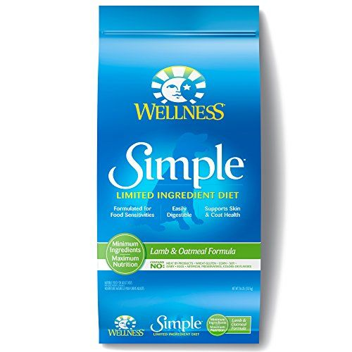 Dog Digestive Remedies - Wellness Simple Natural Dry Limited Ingredient Dog Food Lamb  Oatmeal 26Pound Bag ** Learn more by visiting the image link. (This is an Amazon affiliate link)