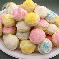 Biscoitos coloridos @ allrecipes.com.br