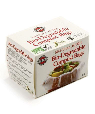 Look what I found on #zulily! Bio-Degradable Compost Bag - Set of 50 #zulilyfinds