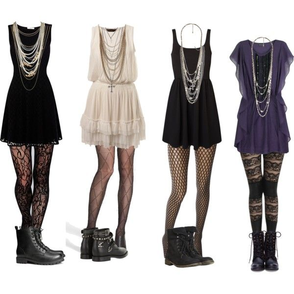 Effy Inspired - Dresses with tights by effyclothes on Polyvore featuring Miss Selfridge, Antik Batik, Oasis, Vero Moda, Hue, Wolford, Gipsy, AllSaints, H&M and Yves Saint Laurent