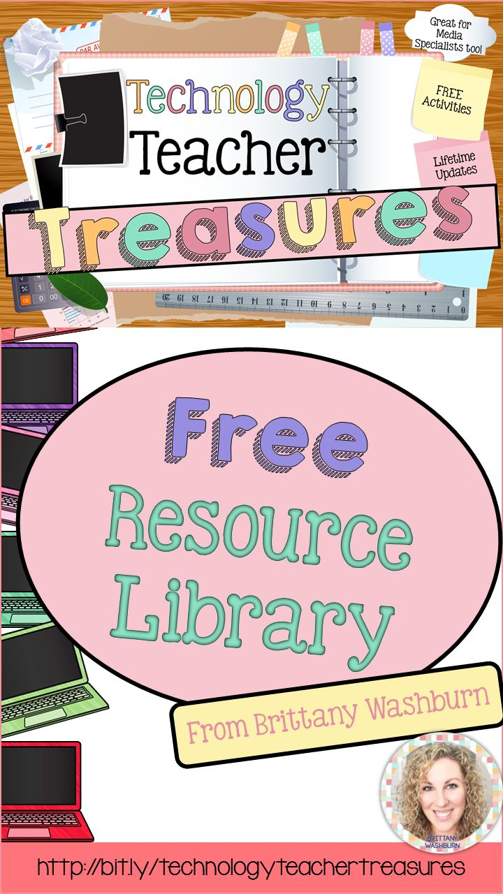 A resource library for technology teachers, media specialists, tech facilitators, and classroom teachers obsessed with tech.