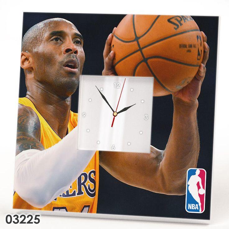 Kobe Bryant Wall Clock Mirror Basketball NBA Lakers Fan Home Design Gift Watch #IKEA #LosAngelesLakers