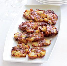 Crispy Smashed Roasted Potatoes Recipe