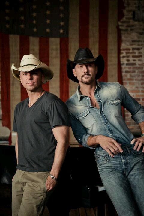 Tim McGraw and kenney chesney :)